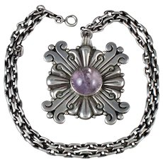 HECTOR AGUILAR AMETHYST NECKLACE