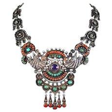 Matilde Poulat MATL Jeweled Palomas Necklace