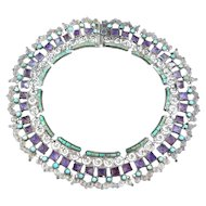 Matilde Poulat MATL Necklace Silver Turquoise & Amethyst
