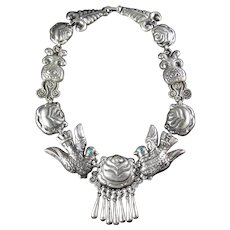 Matilde Poulat Silver Necklace Matl Salas