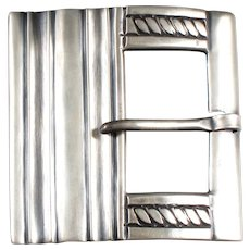 William Spratling Belt Buckle 980 Silver