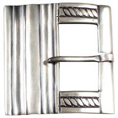William Spratling Belt Buckle 980 Silver