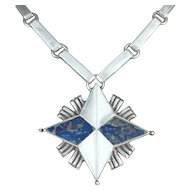 William Spratling Necklace Sterling Silver North Star