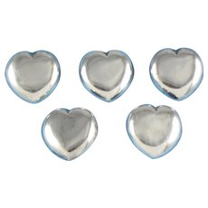William Spratling Buttons Sterling Silver