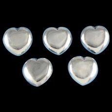 William Spratling Buttons Sterling Silver