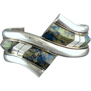 William Spratling Bracelet Sterling Silver & Stone ~ LACMA Collections