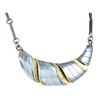 "William Spratling ""Croissant"" Necklace Sterling Silver"