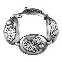William Spratling Jaguar Bracelet Sterling Silver