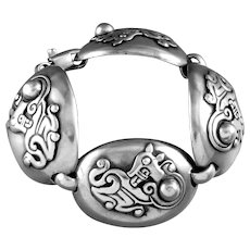 William Spratling Jaguar Bracelet Sterling Silver