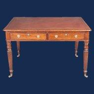 A William IV Mahogany Partner's Writing Table, Circa 1835.