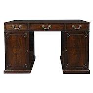 Excellent Mahogany Chippendale Partners Desk, Circa 1770