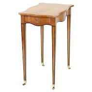 George III Satinwood Side Table, c. 1790