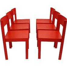 Set of 6 Mid Century Modern Carl Auböck Dining Room Chairs 1956 Vienna