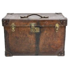 Brown Leather Bag 1920s