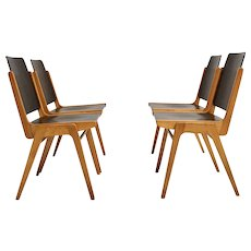 Dining Room Chairs by Franz Schuster, Vienna 1959, Set of 4