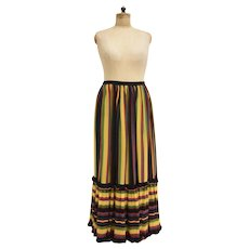 Multicolored Skirt Italy 1960s