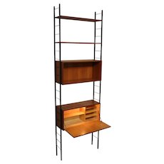 Ladder String Writing Desk Shelf circa 1960 Austria