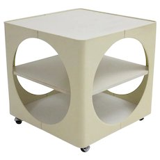 1960s Side Table with Wheels Germany