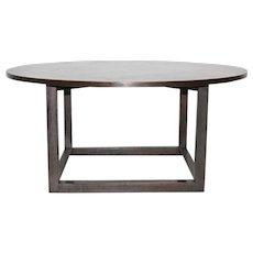 Oakwood Coffee Table in the style of Josef Hoffmann