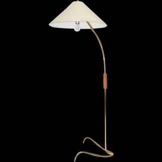 Mid Century Modern Vintage Brass Floor Lamp by Rupert Nikoll 1950s Vienna