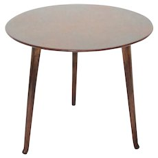 Trilegged Art Deco Walnut Vintage Coffee Table / Side Table by Josef Frank c. 1925 for Haus & Garten, Vienna