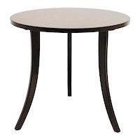 Josef Frank Art Deco Walnut Trilegged Coffee Table Vienna 1930s