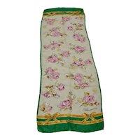 Blumarine Vintage Silk Scarf