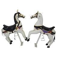 19th Century Austrian Carousel Horses 1890