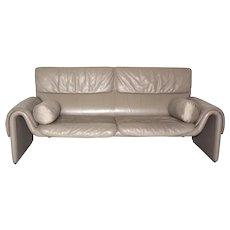 """Leather Bench """"de Sede"""" DS-2011, 1980s"""