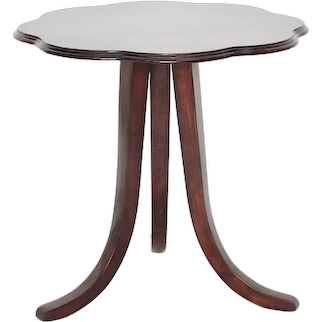 Art Deco Vintage Walnut Side Table by Josef Frank for Thonet circa 1925