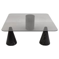 Italian Modern Coffee Table in the style of Angelo Mangiarotti 1970s