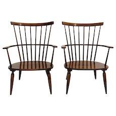 20th Century 2 Armchairs by Franz Schuster Austria 1950s