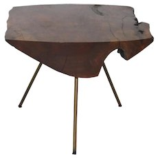 Modernist CARL AUBÖCK Tree Trunk Table Vienna 1950s