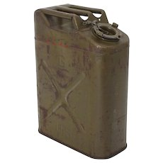 Industrial Design Decorative Petrol Canister 1940s USA