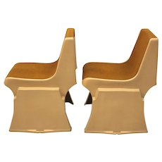 Stacking Chairs by Günther Domenig, 1968 Austria