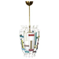Ceiling Lamp by Mathieu Mategot attr. 1950s France