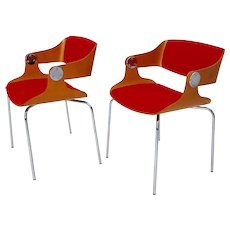 Dining Chairs by Eugen Schmidt 1965 Germany