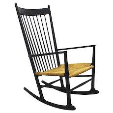 Hans Wegner Rocking Chair J16, Denmark 1944