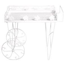 Italian Bar Cart 1950s Mid Century Modern