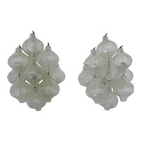 Mid Century Modern Tulipan Pair of Sconces by J. T. Kalmar, Vienna 1960