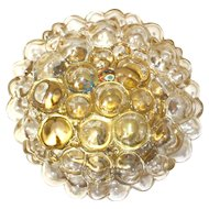 Bubble Glass Flush Mount by Helena Tynell, 1960s
