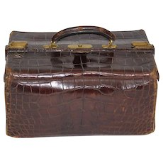 Crocodile Suitcase 1920s Great Britain