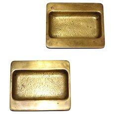 Pair of Hagenauer Brass Bowls 1950s Vienna