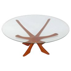 Coffee Table by Illum Wikkelso, circa 1960 Denmark
