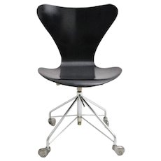 Swivel Office Chair by Arne Jacobsen Denmark 1950s