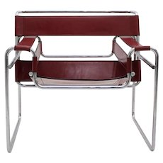 "Set of four ""Wassily"" Chairs Mod. B3 by Marcel Breuer"