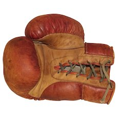 Leather Boxing Clove 1950s