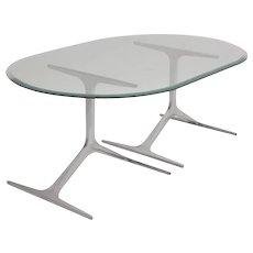 Aluminium Coffee Table by Knut Hesterberg 1960s Germany