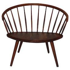 Oak Chair by Yngve Ekstroem Sweden 1955