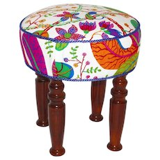 Art Deco Stool Austria 1920s